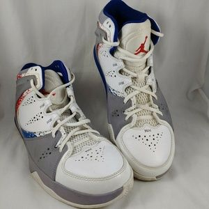 Nike Jordan Basketball Sneakers Shoes US 9 Mid Top